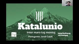 #VK21 Katalunio: Inter maro kaj monto (Jordi Calafí)