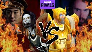 Classic WoW Rank 14 BG Tournament Savix Vs Asmongold