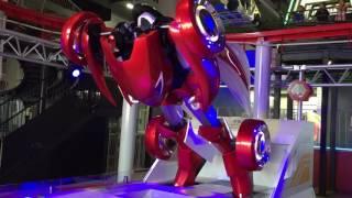 よみうりランド グッチョバ CAR factory by NISSAN 全自動変形ロボ CIRA...