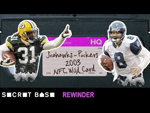 Matt Hasselbeck's OT declaration in Green Bay needs a deep rewind   Seahawks - Packers 2003 Playoffs