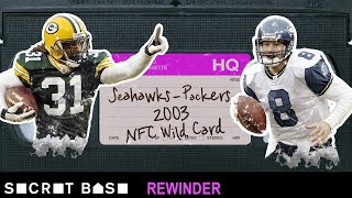 Matt Hasselbeck's OT declaration in Green Bay needs a deep rewind | Seahawks - Packers 2003 Playoffs