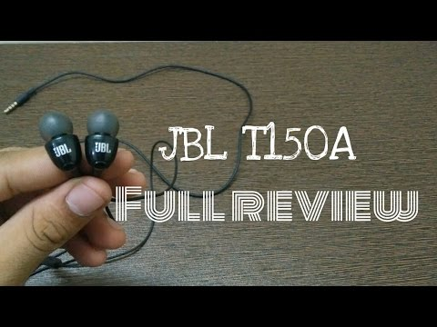 JBL T150A - best earphones for EDM!