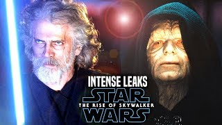 INTENSE The Rise Of Skywalker Leaks! WARNING (Star Wars Episode 9 Spoilers)