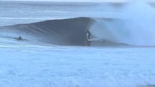 Surfing banzai pipeline