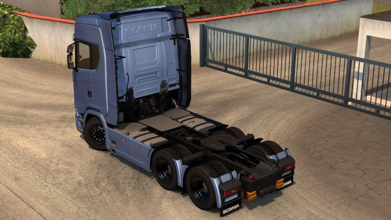 1 30 euro truck simulator 2 rear fender scania next gen beta mods