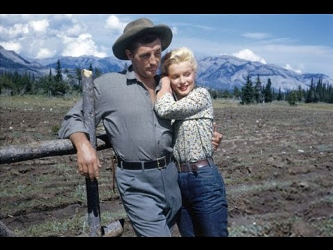 """Marilyn Monroe, Robert Mitchum And  Sammy Davis Jr. """"The River Of No Return"""" And """"Mr. Show Business"""""""