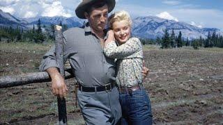 Marilyn Monroe, Robert Mitchum And  Sammy Davis Jr.