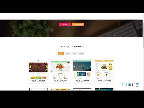 Fruit Shop - Organic Food Responsive Magento 2 Theme        Tsubasa J