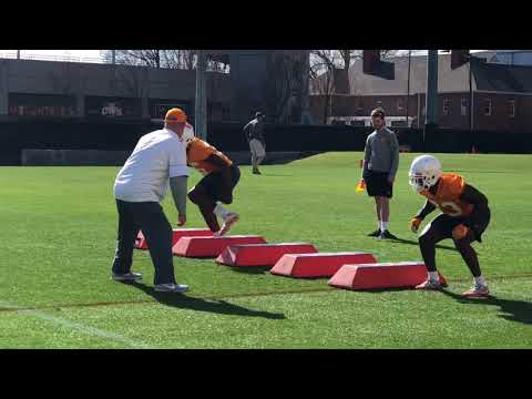 Highlights: Thursday's Tennessee Spring Practice (3/22)