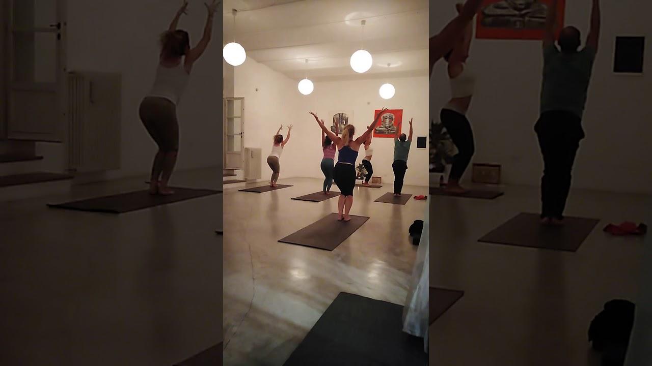 Power yoga 3 advanced class with Etta Evans