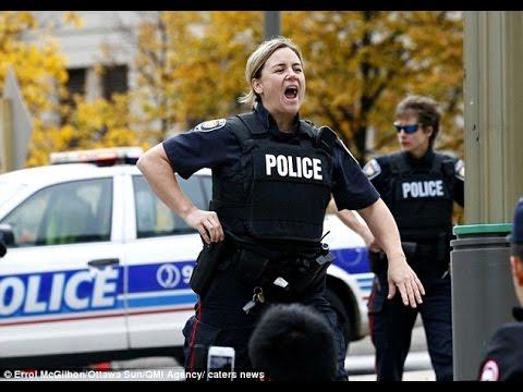 Ottawa, Canada Police on Canada Day