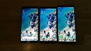 Pixel 2 XL Screen vs OnePlus 5T vs Note 8 FINAL VERDICT in 4K