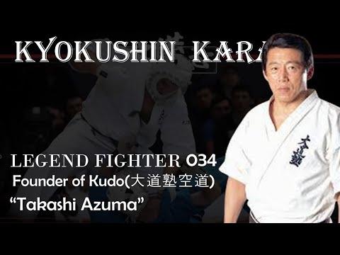"""Kyokushin Karate Fighter 034- Founder of Kudo """"Takashi Azuma(東 孝)"""""""