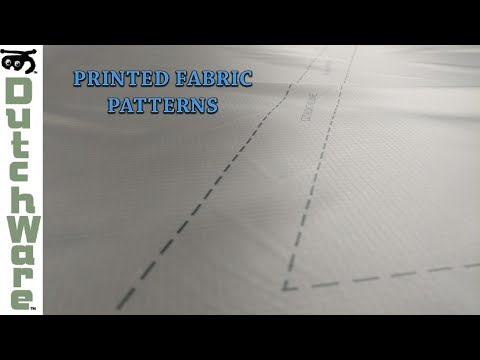 Printed Fabric Patterns