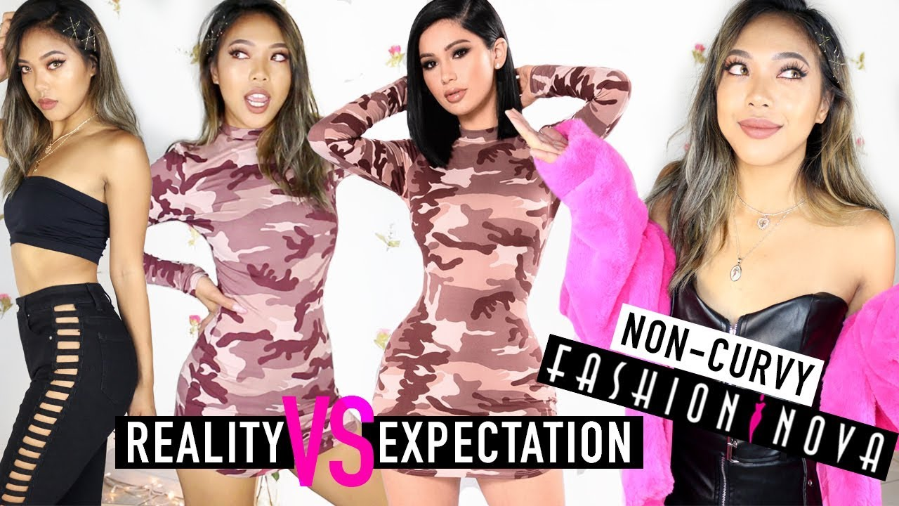 FIRST IMPRESSIONS HAUL: How To Slay FASHION NOVA With No Curves! | HAULS | Nava Rose