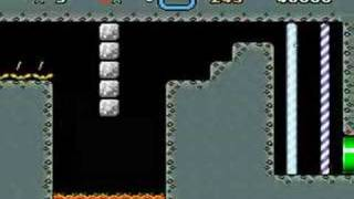 自作の改造マリオを友(ry 全クリ TAS 18:13.05(1/2) thumbnail