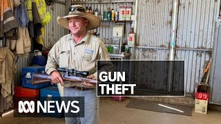 Farmers are easy targets for gun theft — and it's on the rise | ABC News