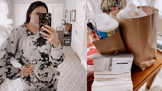 MOVING VLOG: shopping for the move + packing at home