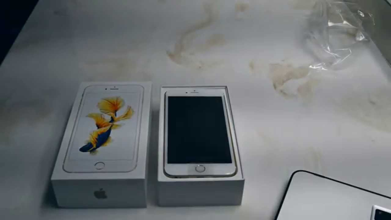 the first iphone unboxing do iphone 6s plus em portugu 234 s 13092