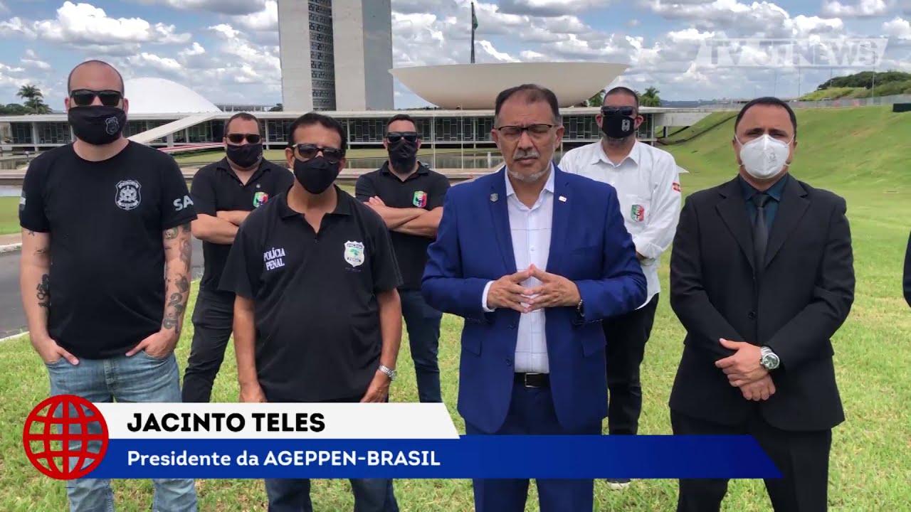 Nova diretoria da AGEPPEN-BRASIL assume compromisso de combater privatizações no Sistema Prisional
