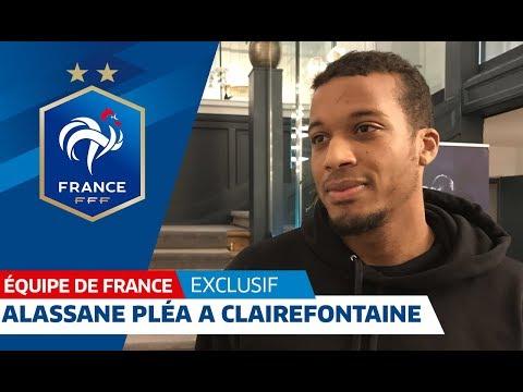 Alassane Pléa a rejoint les Bleus, Equipe de France I FFF 2018