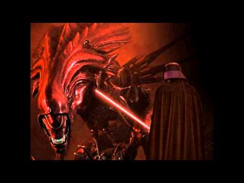DARTHVADER VS ALIENQUEEN EPICFIGHT from YouTube · Duration:  36 seconds