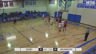 DHS Basketball - Brody Rasor 3-pointer