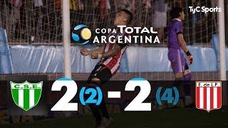 Estudiantes (SL) 2 (2) - 2 (4) Estudiantes (LP) | 8vos de Final | Copa Argentina 2019