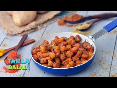 Aloo Fry Recipe, How To Make Potato Fry by Tarla Dalal