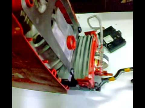 Hilti Demolition Breaker model TE1000AVR     Maintenance