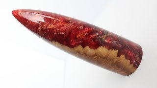 Woodturning - The Hybrid Dragon Tooth