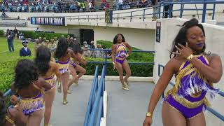 "Alcorn State University """"Sounds of DynOmite"""" entrance @ 2017 Capital City Classic"