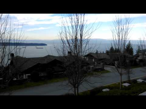 West Vancouver Gutter Cleaning with CGC 02/18/15