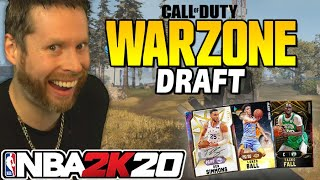 NBA 2K20 Call of Duty Warzone Draft