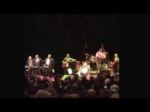 "Living legend BB King performing his finale, ""When the saints go marching in"" at the Saban Theatre"