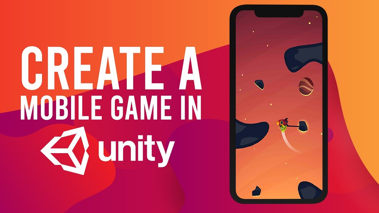How To Make An Android Ios Mobile Game In Unity Youtube