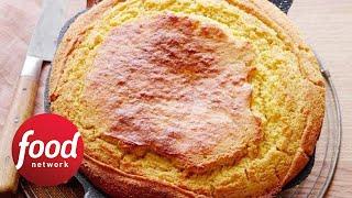How to Make Damaris&#39 Cast-Iron Skillet Cornbread  Food Network