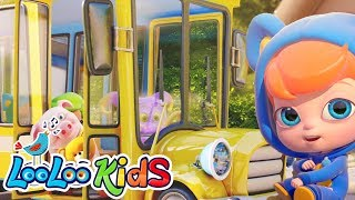 Download The Wheels On The Bus - GREAT Songs for Children | LooLoo Kids MP3 song and Music Video