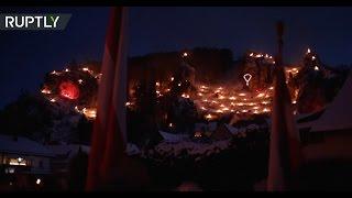 Hundreds of bonfires light up Bavarian village for Eucharistic adoration