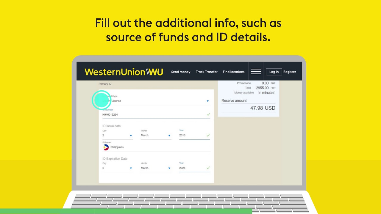 Money transfers from the Philippines | Western Union