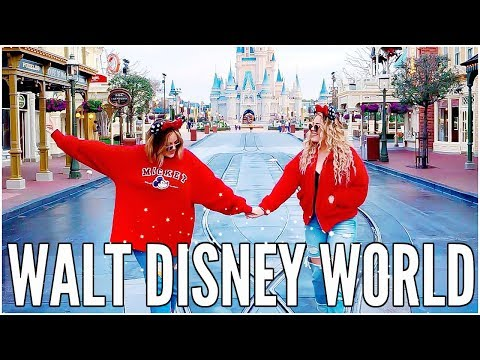 DISNEY WORLD REALLY IS THE HAPPIEST PLACE ON EARTH - WEEKLY VLOG | LucyAndLydia