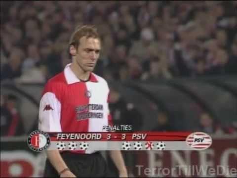 Feyenoord - PSV 1-1 (5-4 np, UEFA Cup 01/02)