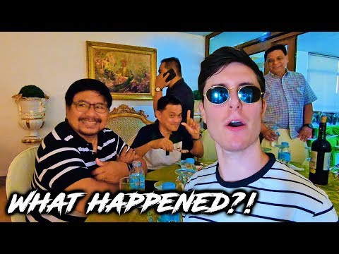 What Happened When I Ate With Filipino Politicians?