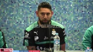 Santos Laguna presentó a Jorge