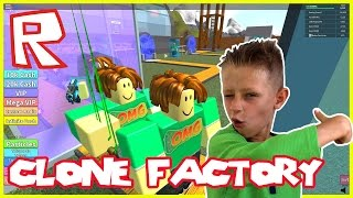 Clone Factory Tycoon | Roblox