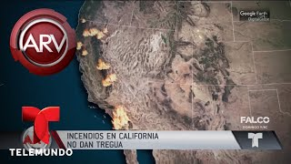 California arde por infernales incendios   Al Rojo Vivo   Telemundo