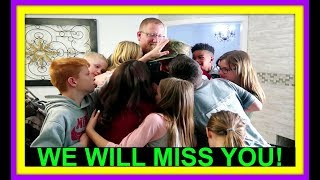 WE WILL MISS YOU! | AUBREY'S FOOT! | CUTEST KITTENS EVER!