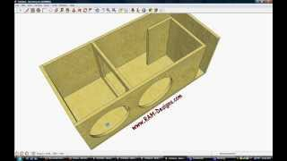 "Kicker cvx 12"" ported box design"
