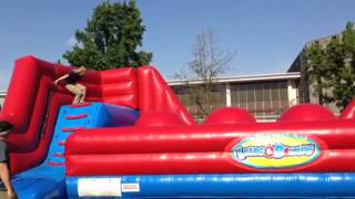 Inflatable Wipe Out Big Baller Party Rental Bay Area