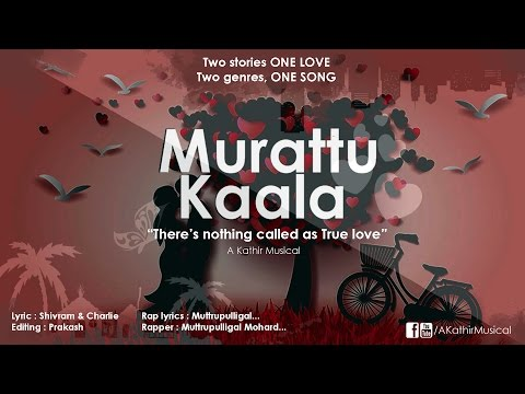 Murattu Kaala | Valentines Story | Tamil Album Song | Independent Single | Lyric Video | KathiR
